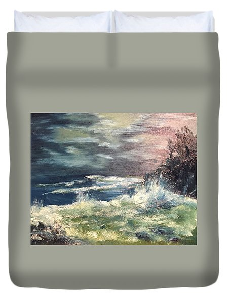 Choppy Seas 1 Duvet Cover