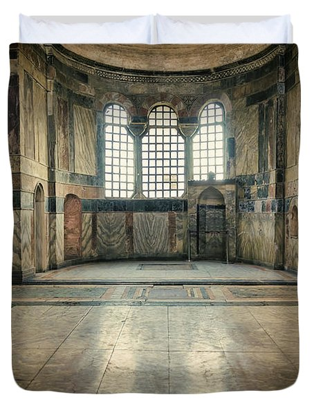 Chora Nave Duvet Cover by Joan Carroll