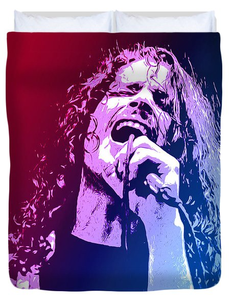 Chris Cornell 326 Duvet Cover