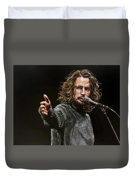 Chris Cornell Duvet Cover