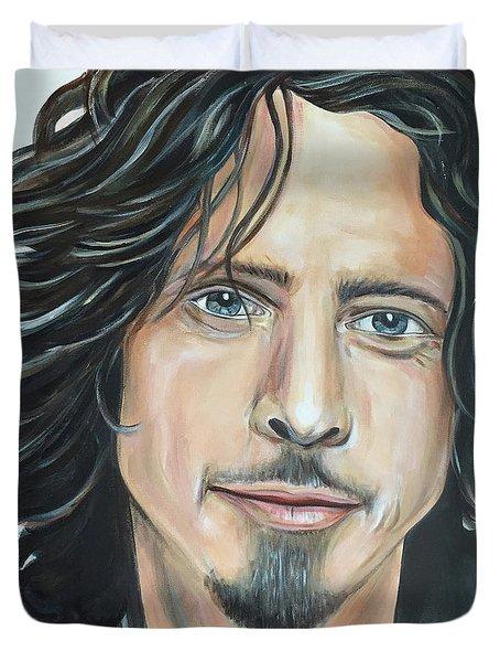 Chris Cornell Duvet Cover