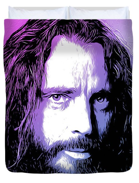 Chris Cornell Tribute Duvet Cover