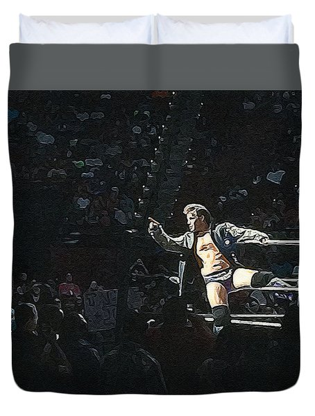 Chris Jericho Y2j Duvet Cover