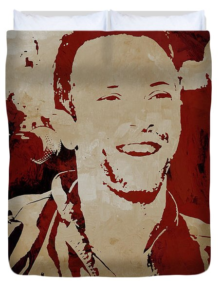 Chris Martin Coldplay Duvet Cover