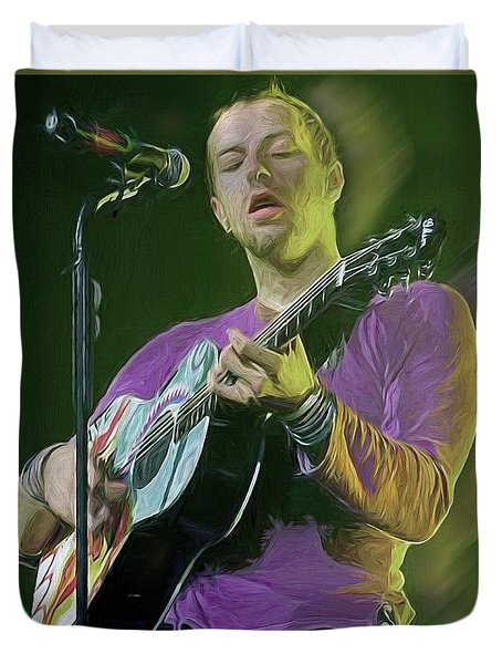 Chris Martin, Coldplay Duvet Cover