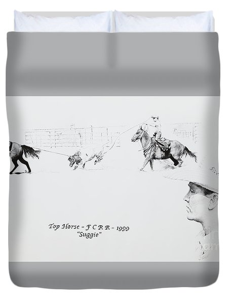 Chris Moore Suggie Duvet Cover by Tracy L Teeter