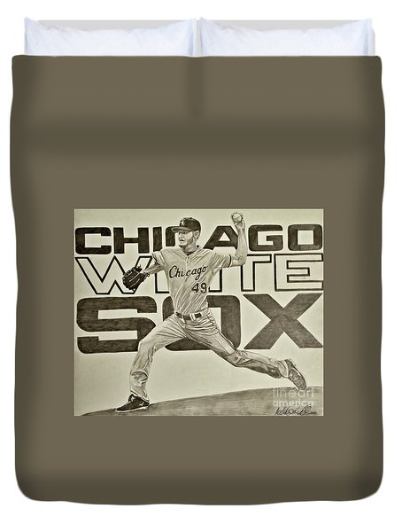 Chris Sale Duvet Cover