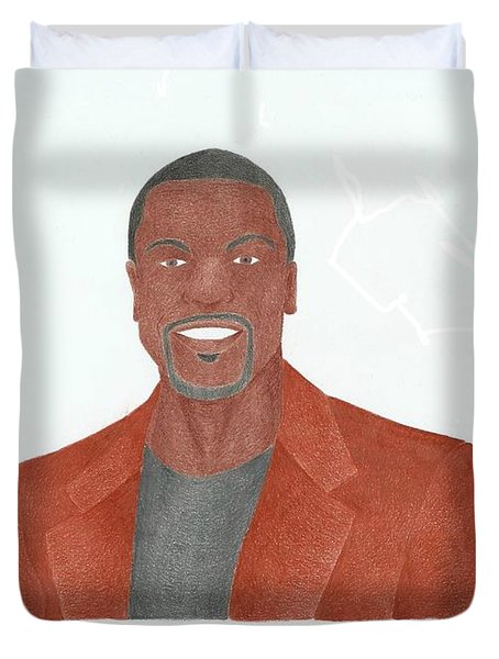 Chris Tucker Duvet Cover