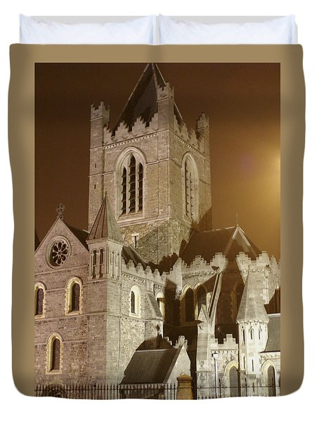 Christ Church Dublin Ireland Duvet Cover