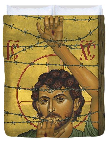 Christ Of Maryknoll - Rlcom Duvet Cover