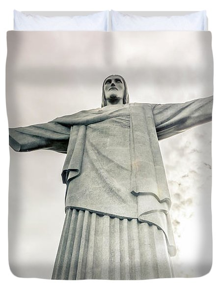 Christ The Redeemer Duvet Cover by Andrew Matwijec