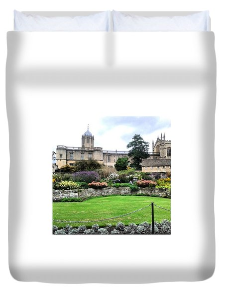 Christchurch, Oxford Duvet Cover