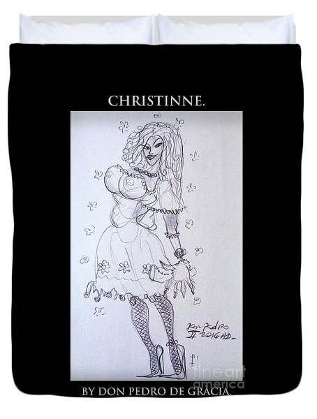 Christinne Duvet Cover