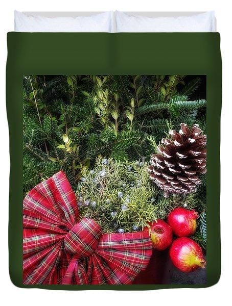 Christmas Arrangement Duvet Cover