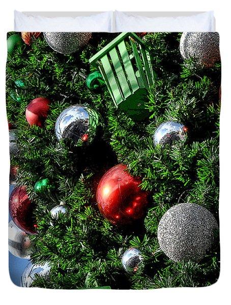 Christmas Balls Duvet Cover