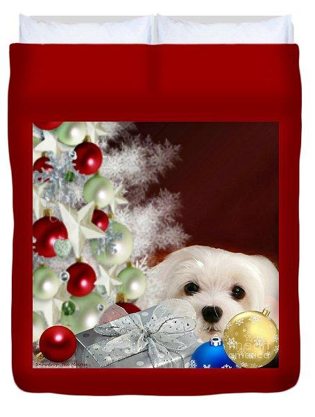 Christmas Baubles Duvet Cover