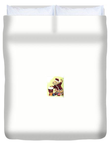 Christmas Bear Duvet Cover