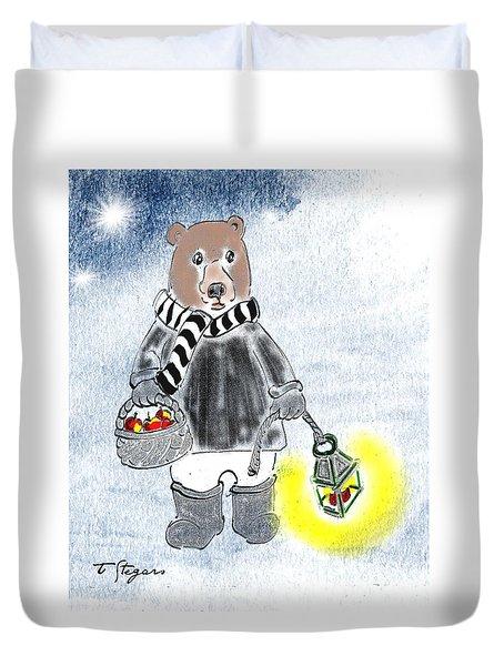 Christmas Bear Duvet Cover
