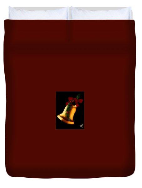Christmas Bell Duvet Cover