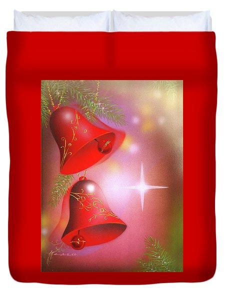 Christmas Bells Duvet Cover