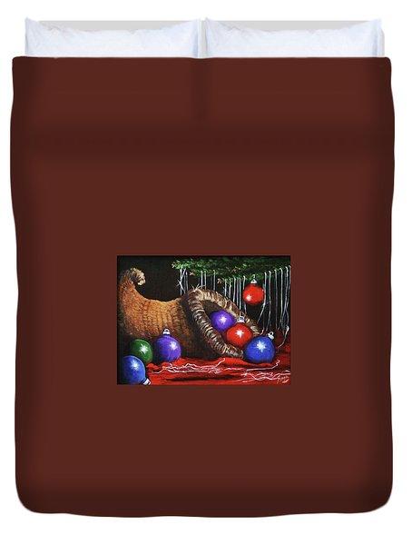 Christmas Colors Duvet Cover