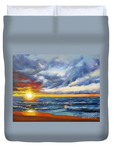 Christmas Cove Duvet Cover