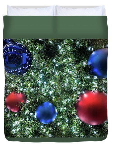 Christmas Display 2 Duvet Cover
