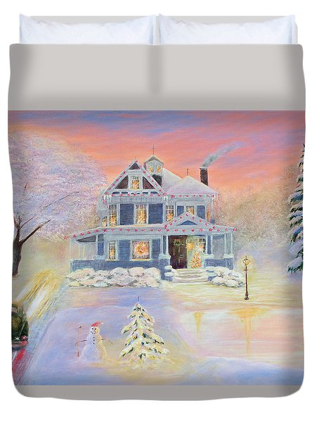 Christmas Eve Duvet Cover
