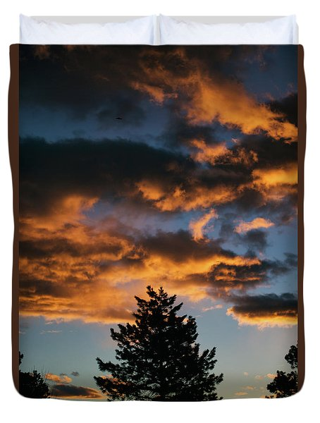 Christmas Eve Sunrise 2016 Duvet Cover