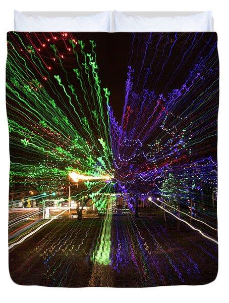 Christmas Exploding Duvet Cover