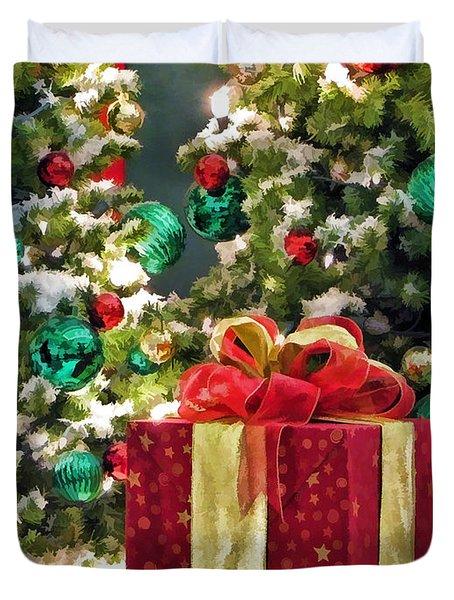 Christmas Gift Duvet Cover