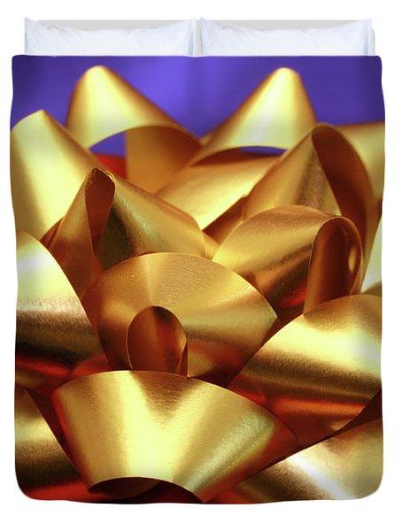 Christmas Gift Duvet Cover by Gaspar Avila