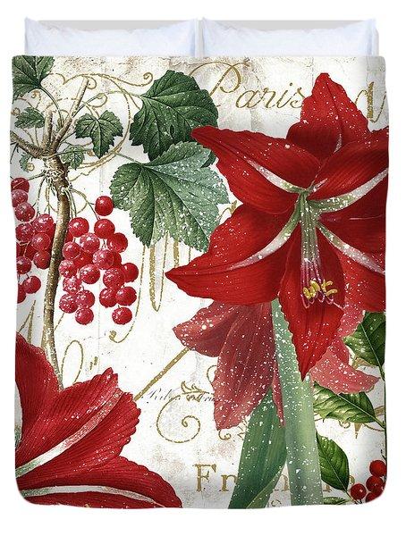 Christmas In Paris II Duvet Cover
