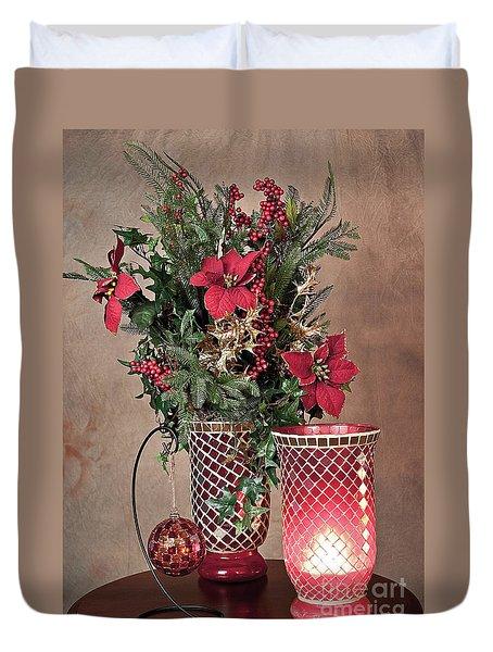 Christmas Jewels Duvet Cover