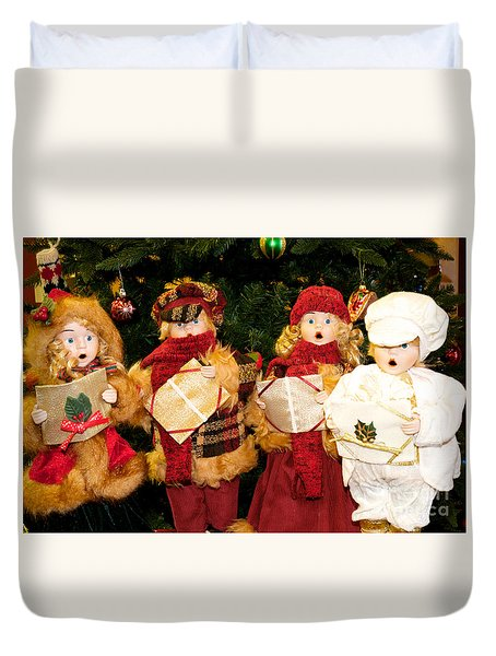 Christmas Quartet Duvet Cover