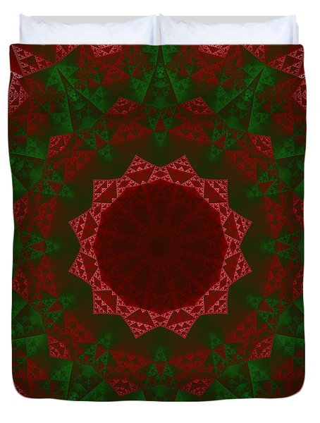 Christmas Quilt Duvet Cover