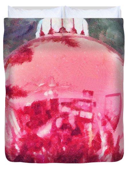 Christmas Reflected Duvet Cover