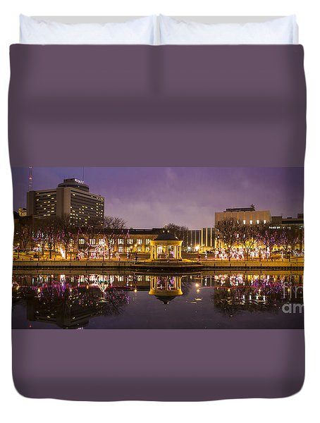 Christmas Reflections  Duvet Cover