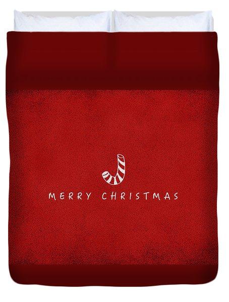 Christmas Series Christmas Stick Duvet Cover