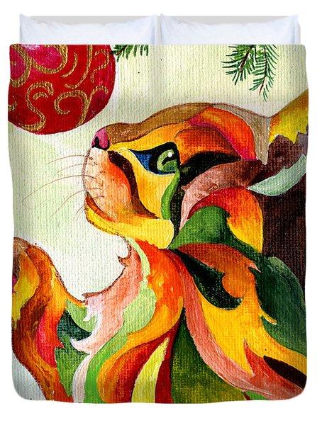 Christmas Tempation Duvet Cover