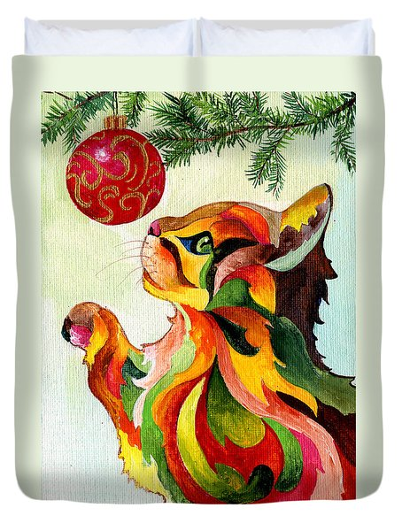 Christmas Tempation Duvet Cover