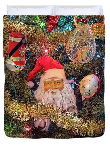 Christmas Tree Delight Duvet Cover