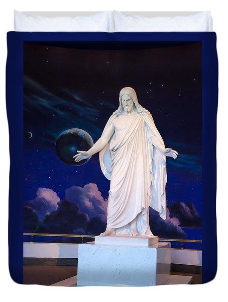 Christus Duvet Cover