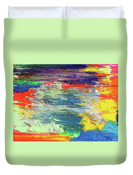 Chromatic Duvet Cover