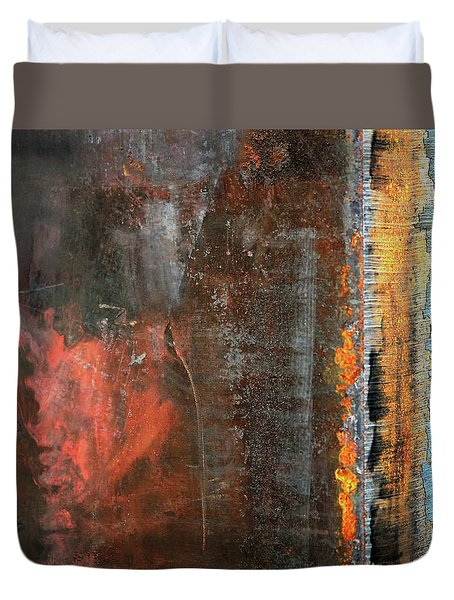 Chromatic Steel Duvet Cover