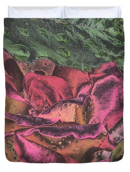 Chrome Rose 64182 Duvet Cover