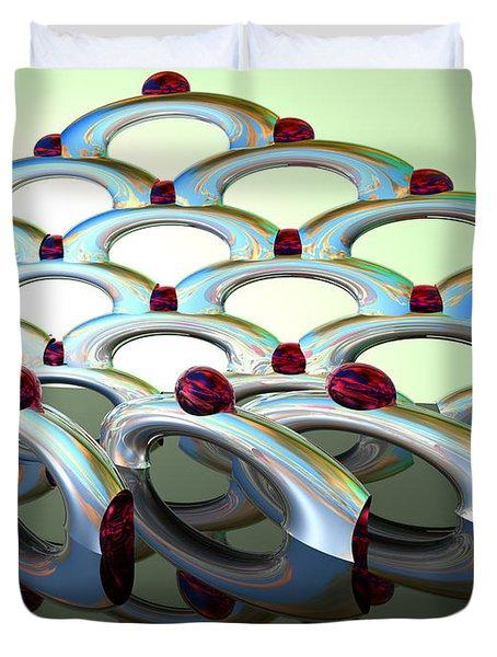 Chrome Sundae Duvet Cover by Scott Piers