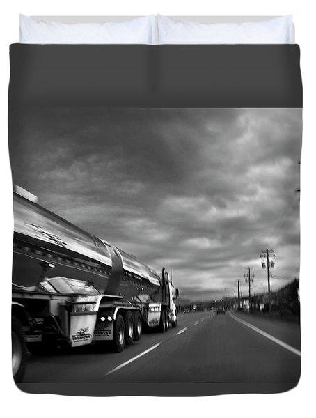 Chrome Tanker Duvet Cover