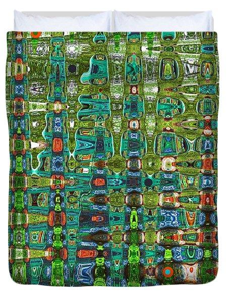 Chromosome 22 Duvet Cover by Diane E Berry