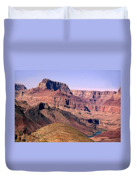 Chuar Butte  Grand Canyon National Park Duvet Cover